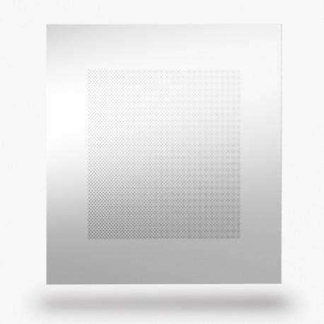 Plaque Aluminium accoustique pour faux plafon