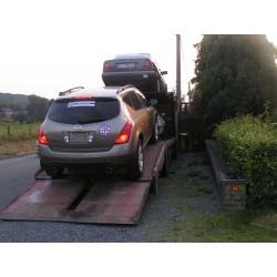 Livraison 4x4 SUV  pt-VAN Belgique-Anvers